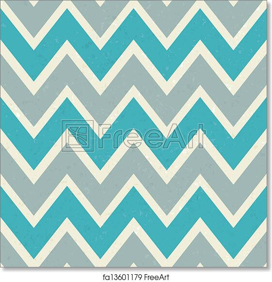 photo relating to Free Printable Chevron Pattern known as Cost-free artwork print of Seamless Chevron Behavior