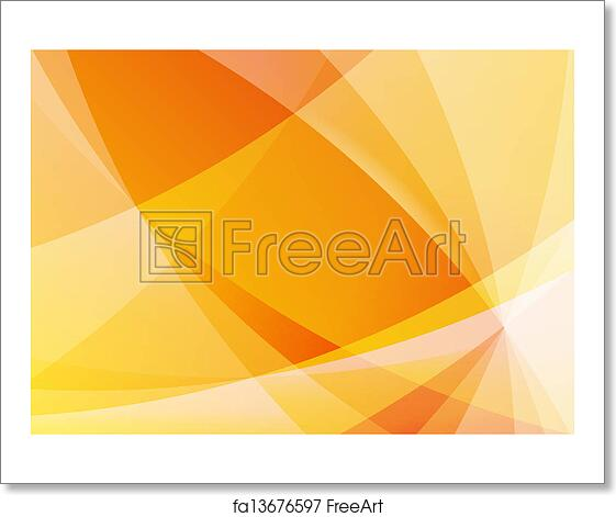 Free Art Print Of Abstract Orange And Yellow Background Wallpaper