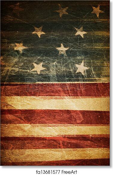 free art print of american flag background freeart fa13681577