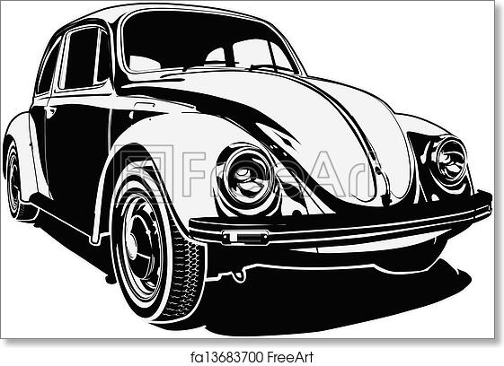 Free Art Print Of Retro Car Rerto Silhouette Available Eps8 Rhfreeart: Old Fashion Car Silhouette At Cicentre.net