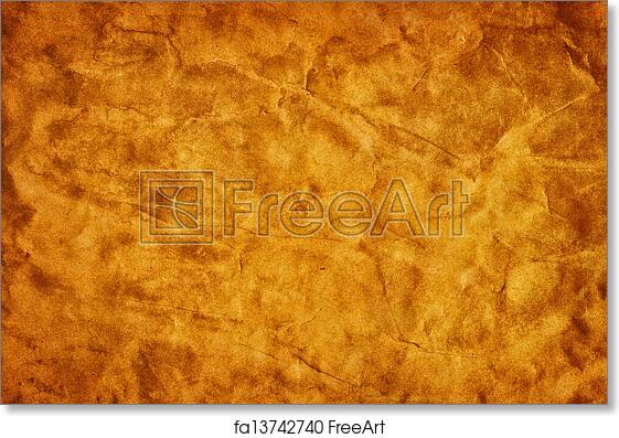 Free Art Print Of Old Grunge Creased Paper Texture Retro Vintage Background