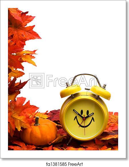 Free Art Print Of Fall Back Time Change