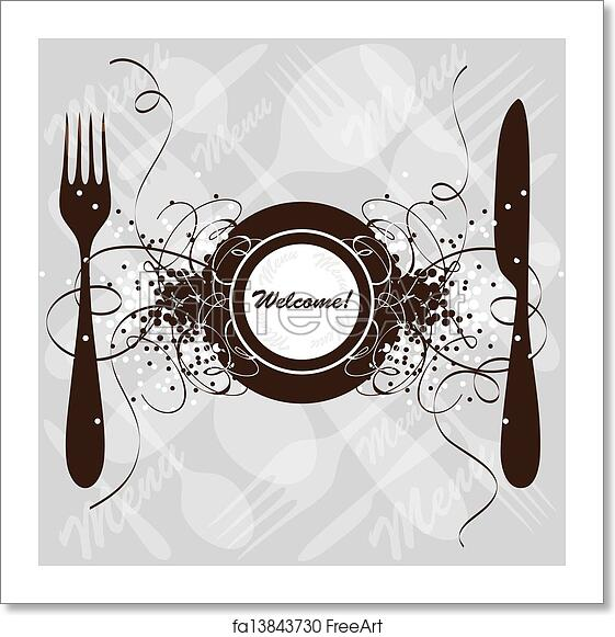 free art print of restaurant menu design restaurant menu design