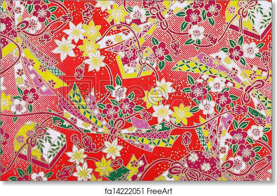picture relating to Free Printable Pattern Paper identified as Absolutely free artwork print of Eastern behavior paper