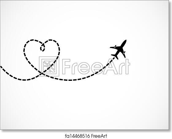 Free Art Print Of Love Travel Concept