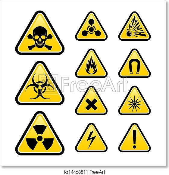 Free art print of Signs of danger