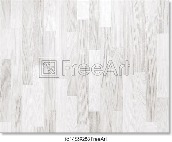 Free Art Print Of White Parquet Wooden Texture