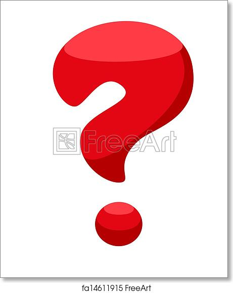 graphic about Printable Question Mark called No cost artwork print of Crimson speculate mark