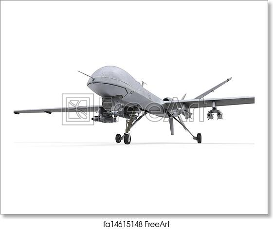 Free Art Print Of Military Predator Drone