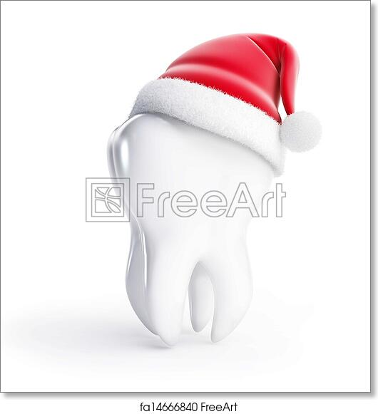 picture relating to Printable Santa Hat identify Totally free artwork print of Enamel santa hat