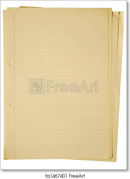 photo regarding A4 Printable Paper named Absolutely free artwork print of Outdated yellowing A4 faint covered sheets of paper.