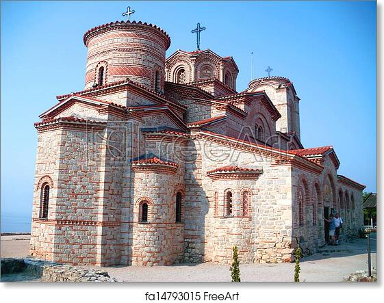 Free Art Print Of Early Christian Church Ohrid Early Christian