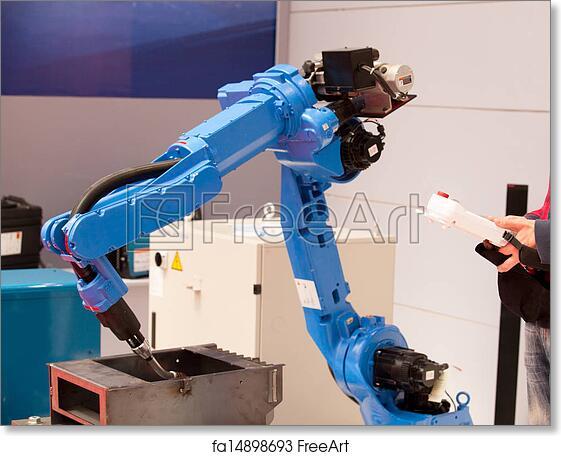 Free art print of Robot arm