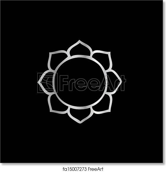 Free Art Print Of Symbol Of Buddhism Lotus Flower Freeart