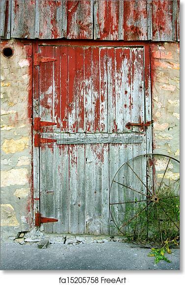 Exceptionnel Free Art Print Of Old Barn Door