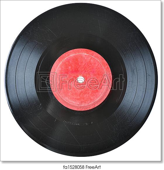 photo relating to Printable Vinyl Record Labels identify Absolutely free artwork print of Previous vinyl historical past