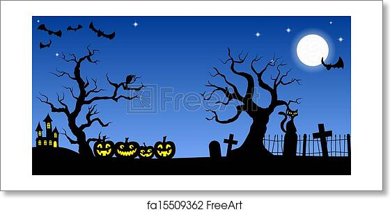Halloween Spooky.Free Art Print Of Spooky Halloween Background