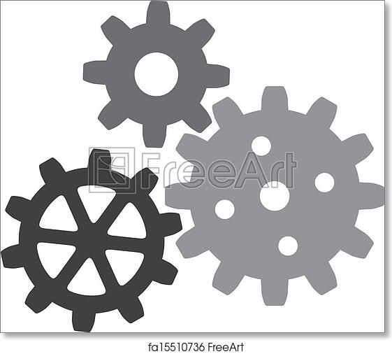 picture relating to Printable Gears identify Cost-free artwork print of Escalating gears