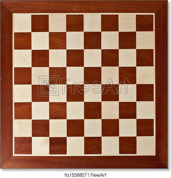 photo about Printable Chess Board named Totally free artwork print of Outdated picket chess board