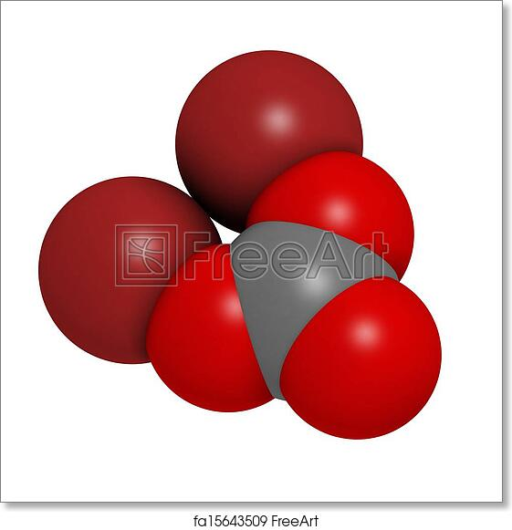 Free art print of Lithium carbonate (Li2CO3) bipolar disorder drug,  chemical structure  Atoms are represented as spheres with conventional  color