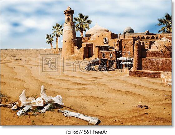 Fantasy Art Asian City