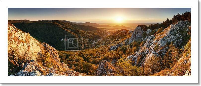 Nature Mountain Art Print Canvas Print Poster Wall Art Home Decor D Ebay