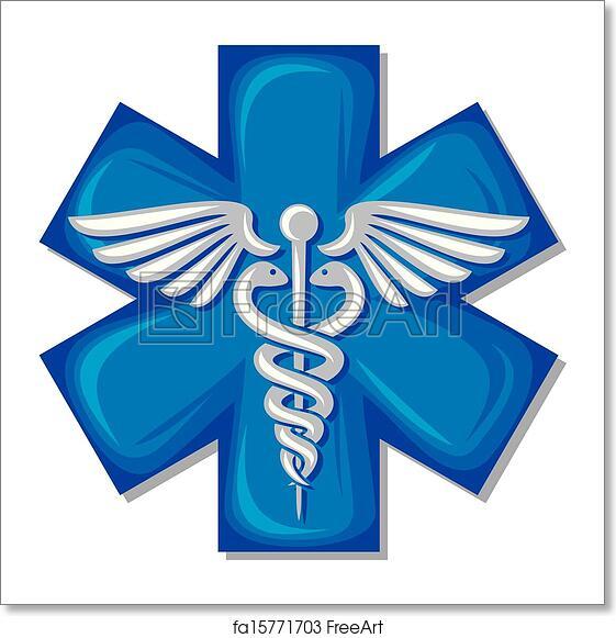 Free Art Print Of Caduceus Medical Symbol Caduceus Medical Symbol