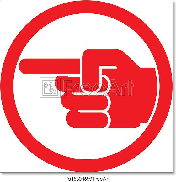 Free Art Print Of Finger Pointing Symbol Finger Pointing Symbol