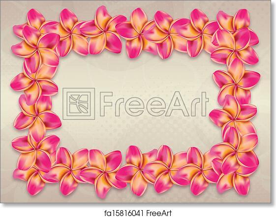 Free art print of pink plumeria flowers frame ping plumeria free art print of pink plumeria flowers frame mightylinksfo