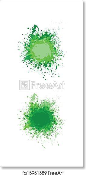 Free art print of Paint splash vector