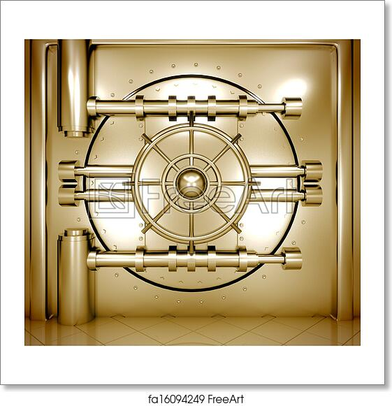 Free Bank Vault Art Prints and Wall Artwork | FreeArt