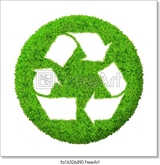 photo relating to Printable Recycle Symbol titled Totally free artwork print of Eco-friendly recycle logo