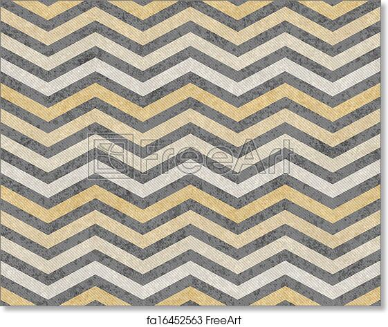 Free art print of Yellow and Gray Zigzag Textured Fabric Background ...