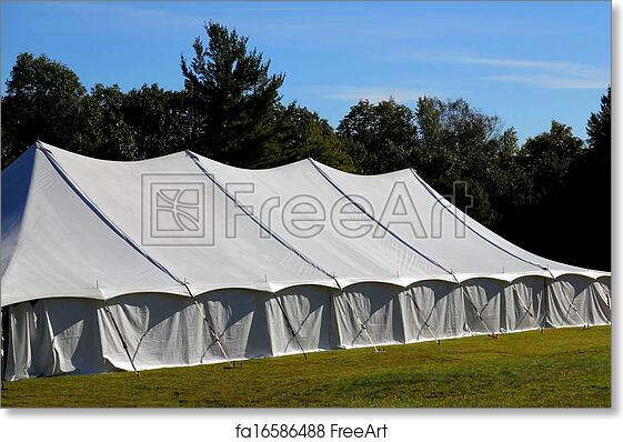 new style 932df e82ad Free art print of Giant tent