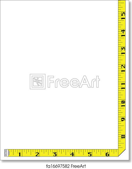 picture regarding Tape Measure Printable titled Absolutely free artwork print of Tape Evaluate Border