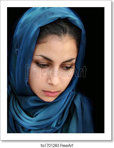 Arab girl photo