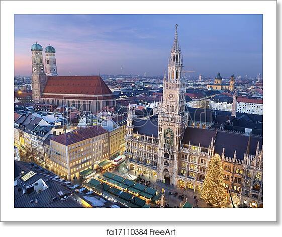 Munich Germany Christmas.Free Art Print Of Munich Germany