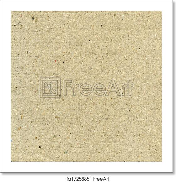 free art print of recycled paper background textured recycled paper