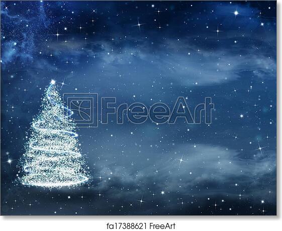 Beautiful Christmas Background.Free Art Print Of Beautiful Christmas Background