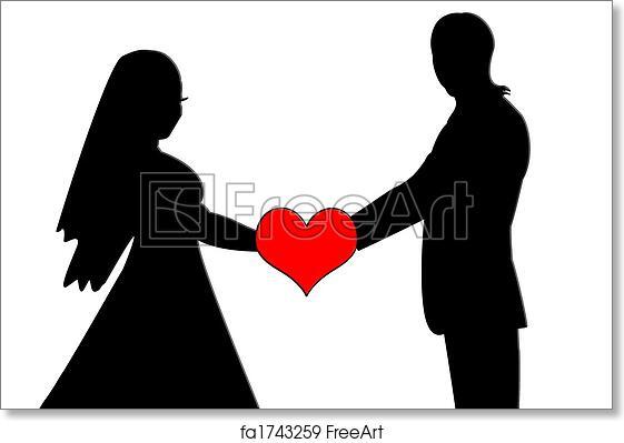 love couple heart