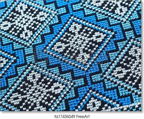 Free art print of Cross stitch patterns