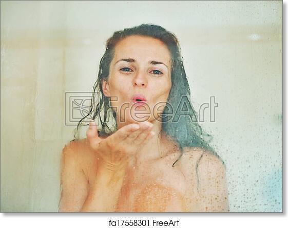 girl in shower biggest monster dick