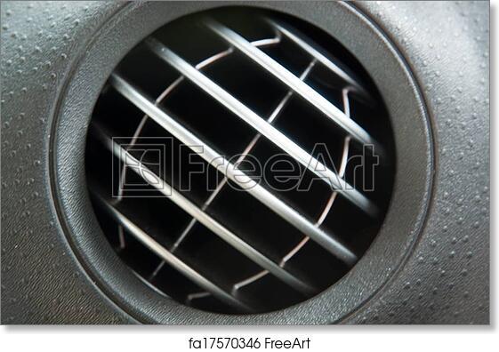 Free Art Print Of Ventilation Hole Air Ventilation In A Car