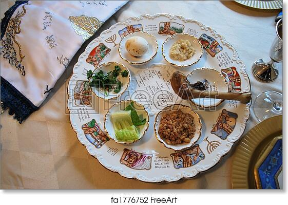 graphic relating to Printable Seder Plate named Free of charge artwork print of Standard Pover Seder