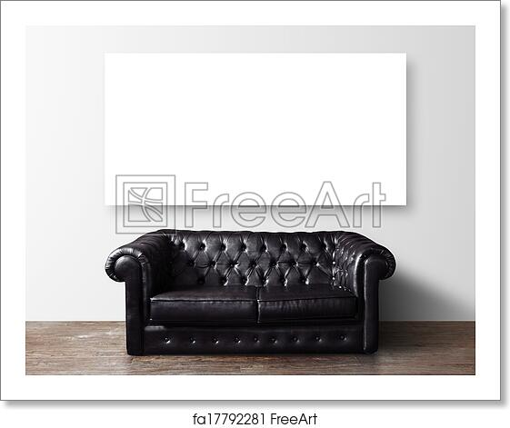 Swell Free Art Print Of Sofa And Poster Machost Co Dining Chair Design Ideas Machostcouk