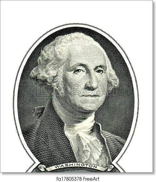 photo about Printable Pictures of George Washington known as Totally free artwork print of George Washington upon a person greenback