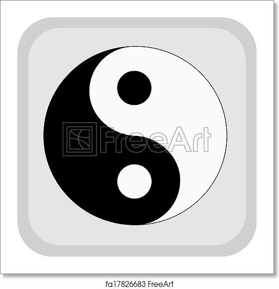 Free Art Print Of Yin Yang Yin Yang Symbol Freeart Fa17826683