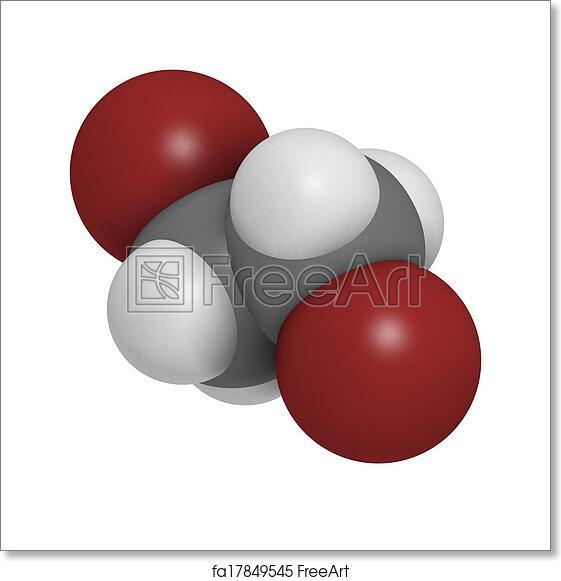 Free Art Print Of Ethylene Dibromide EDB 1 2 Dibromoethane