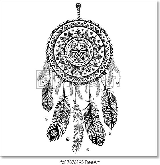 Free art print of ethnic american indian dream catcher ethnic free art print of ethnic american indian dream catcher m4hsunfo