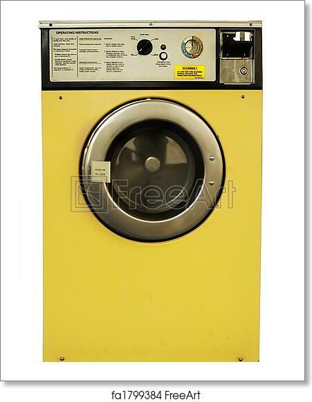 Free art print of Washing Machine